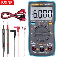 <b>BSIDE</b> Digital Multimeter ZT101 <b>ZT102 True RMS</b> Auto Range ...