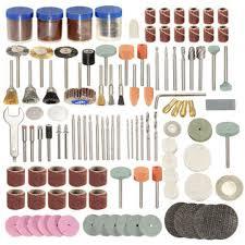 <b>166pcs 1/8</b> inch shank <b>rotary</b> tool accessories set polshing tool ...