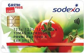 Výsledek obrázku pro sodexo gastro pass