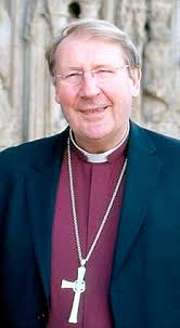 The Bishop of Exeter, Rt Rev Michael Langrish, was approached by gay couple Paddy O'Neil and Reverend Canon Rodney to permit their civil partnership. - article-1041270-0228B42000000578-262_233x423