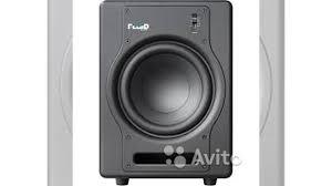 Студийные сабвуферы <b>Fluid Audio</b> F8S новые купить в Москве на ...