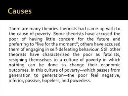 free causes of poverty essay  example essays