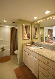 bathroom above mirror lighting recessed bathroom lighting fixtures over vanity with linen cabinets and large mirror above mirror lighting bathrooms