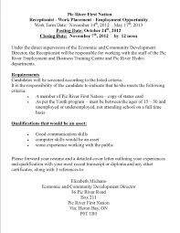 cover letter for front office receptionist cover letter examples receptionist sample resume