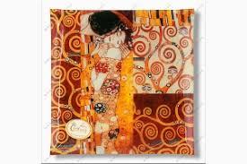 <b>Тарелка квадратная Поцелуй</b> (<b>Г</b>.Климт), L 25 см, W 25 см ...