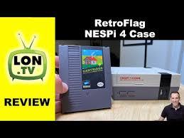 <b>Retroflag Nespi 4</b>. More than just a Case! Raspberry Pi 4 200GB ...