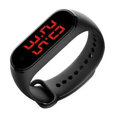 Generic V8 <b>Smart Temperature Monitoring Bracelet</b> - Prix pas cher ...