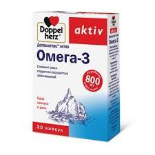 <b>Доппельгерц актив омега</b>-<b>3</b> капс. №80 по цене от 686.36 руб в ...