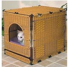 i have attempted cat litter right after the dog is properly educated but i find it kicked out and tracked everywhere you can obtain a tough cat litter box covers furniture