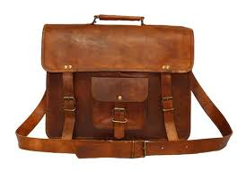 Leather Messenger <b>Bags</b> - 15 Inch Leather Vintage Crossbody ...