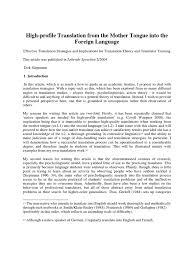 english tongue twisters docshare tips siepmann mother tongue to foreign language effective translation strategies