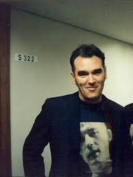 <b>Morrissey This is</b> one of the faces I will see when I get to heaven ...