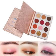 Pigment <b>Waterproof Eyeshadow Palette 12</b> Colors Makeup <b>Eye</b> ...