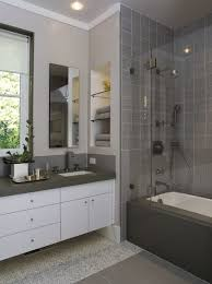 built bathroom vanity design ideas: engaging design home bathroom interior ideas feature white floating bathroom vanity