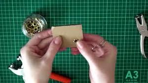 Как установить <b>люверсы</b> (блочки) без специальных инструментов