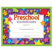 awards certificates amazon com office school supplies preschool certificates pack of 30