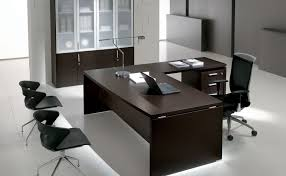 desk attractive executive office desk l shape espresso finish manufactured wood construction 3 drawer file cabinet attractive wooden office desk