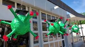 Whack the bug away! Coronavirus-shaped PINATAS sold in Dallas ...