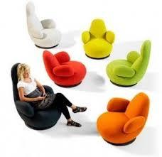 room ergonomic furniture chairs: colorful ergonomic designer chair for living room