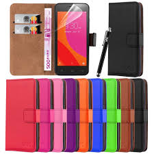 <b>PU Leather</b> Book <b>Wallet Case</b> Cover For LENOVO B PHONE+ ...