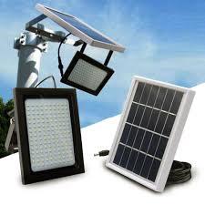 <b>150 LED Solar Power</b> Flood Light Sensor Motion Activated Outdoor ...