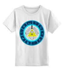 """Детские футболки унисекс c стильными принтами """"Гравити Фолз ..."""