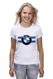 """Женские футболки c дизайнерскими принтами """"<b>bmw</b>"""" - <b>Printio</b>"""