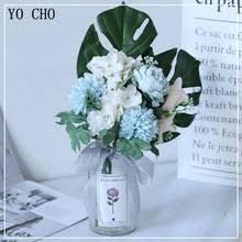 YO CHO свадебный букет, <b>искусственный цветок</b>, Шелковая ...