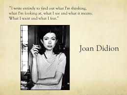 essays cila warncke joan didion