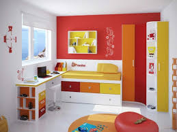 bedroom design red contemporary wood: rectangle white contemporary wood kids bed red frame bed decor wooden headboard storage small baby bedroom designs wall floral flowers