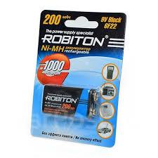 <b>Аккумулятор крона Robiton</b> 200MH9 6F22 арт.12239 - Прочая ...