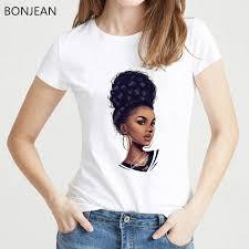 <b>Melanin Poppin' for Women</b> T Shirt femme harajuku Melanin Poppin ...