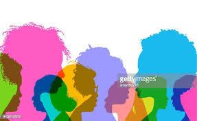 cartoon african women