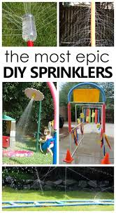 DIY <b>Sprinklers</b> for Kids - Fantastic Fun & Learning