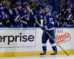 johnson has goals and assist lightning beat islanders  johnson has 2 goals and assist lightning beat islanders 4 1