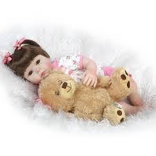 Wholesale 52cm <b>Silicone</b> New Reborn <b>Baby</b> Dolls Realistic <b>Girl</b> ...
