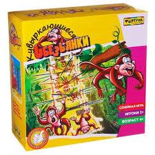 <b>Настольная игра Фортуна</b> Кувыркающиеся обезьянки Ф51234 ...