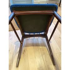 table eva chairs niels next  blue scandinavian eva teak chairs niels koefoeds s