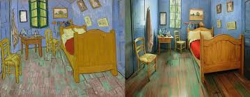 painting bedroom museum recreates van gogh39s bedroom painting and puts it on airbnb