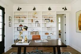 transitional home office photos hgtv chic home office features