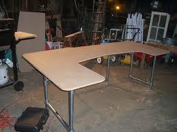 desk with legs on build office desk