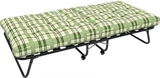 Раскладушка Изабелла с матрасом (кровать раскладная ...