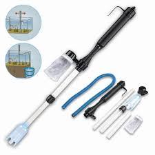 ZHIYANG <b>Aquarium</b> Cleaner Tool <b>Siphon</b> Gravel Suction Pipe Filter ...