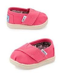 TOMS <b>Classic Canvas</b> Slip-On, Pink, Tiny | Kinsley Mai!! | <b>Baby</b> girl ...
