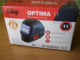 Обзор от покупателя на <b>Маска сварочная FUBAG OPTIMA</b> 11 ...
