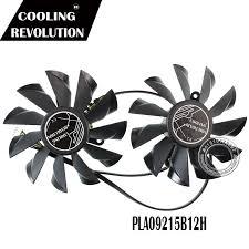 <b>2 Pcs</b>/<b>Lot graphics card Fan</b> VGA Cooler fans For MSI GTX780 N780 ...