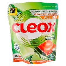 <b>Капсулы для посудомоечных машин</b> `CLEOX` Все в 1 14x280 г ...