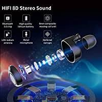【Latest Model】 <b>Bluetooth</b> 5.0 <b>Earbuds</b>, Wireless: Amazon.co.uk ...