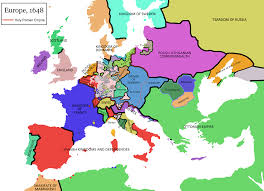 a simplified map of europe after the peace of westphalia in  a simplified map of europe after the peace of westphalia in 1648