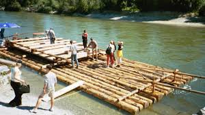 Image result for log raft image
